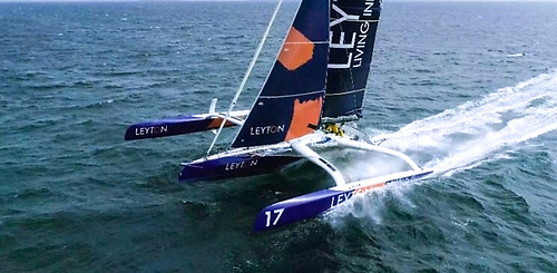 The Leyton Ocean 50 – Pam Lee took her to 32 knots