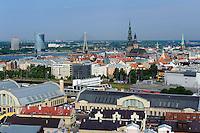 Markthallen an der Daugava in Riga in Riga, Lettland, Europa, Unesco-Weltkulturerbe