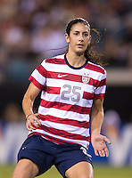 Yael Averbuch.  The USWNT defeated Scotland, 4-1, during a friendly at EverBank Field in Jacksonville, Florida.