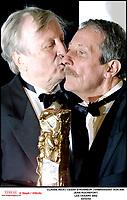 CLAUDE RICH (CESAR D'HONNEUR) & SON AMI JEAN ROCHEFORT<br /> CESARS 2002 #