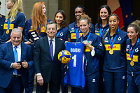 20210927 Draghi riceve la Nazionale maschile e femminile di volley