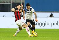 Milano  23-01-2021<br /> Stadio Giuseppe Meazza<br /> Campionato Serie A Tim 2020/21<br /> Milan - Atalanta<br /> nella foto: Zlatan Ibraimovic                                                         <br /> Antonio Saia Kines Milano