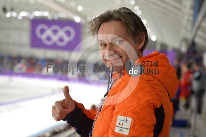 OLYMPIC GAMES: PYEONGCHANG: 14-02-2018, Gangneung Oval, Long Track, 1000m Ladies, Jeroen Otter, ©photo Martin de Jong