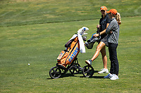 STANFORD, CA - MAY 10: Annabell Fuller, Emily Bastel Glaser at Stanford Golf Course on May 10, 2021 in Stanford, California.