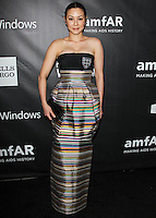 HOLLYWOOD, LOS ANGELES, CA, USA - OCTOBER 29: China Chow arrives at the 2014 amfAR LA Inspiration Gala at Milk Studios on October 29, 2014 in Hollywood, Los Angeles, California, United States. (Photo by Celebrity Monitor)