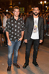 Alvaro Cervantes and Antonio Velazquez attends the party of Nike and Roberto Tisci at the Casino in Madrid, Spain. September 15, 2014. (ALTERPHOTOS/Carlos Dafonte)
