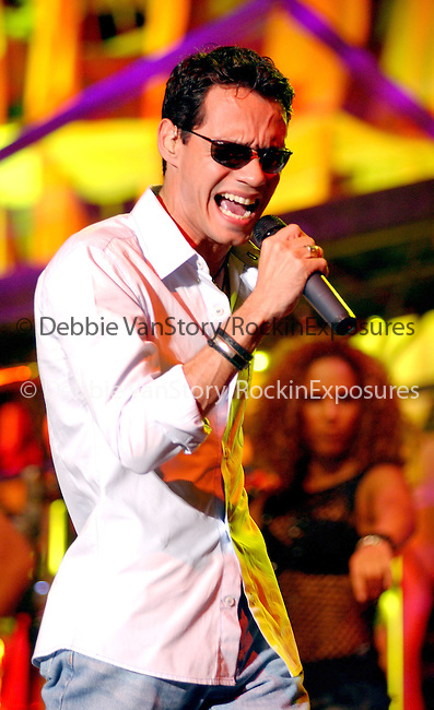 Marc Anthony performs live at The Greek Theatre in LA, California on August 5,2002 .Photo by RockinExposures