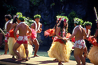 Polynesian culture including dance at the polynesian cultural center, north shore of oahu.
