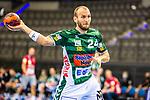 Marcel Schiller (FRISCH AUF! Goeppingen #24) ; BGV Handball Cup 2020 Finaltag: TVB Stuttgart vs. FRISCH AUF Goeppingen am 13.09.2020 in Stuttgart (PORSCHE Arena), Baden-Wuerttemberg, Deutschland<br /> <br /> Foto © PIX-Sportfotos *** Foto ist honorarpflichtig! *** Auf Anfrage in hoeherer Qualitaet/Aufloesung. Belegexemplar erbeten. Veroeffentlichung ausschliesslich fuer journalistisch-publizistische Zwecke. For editorial use only.