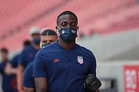 SANDY, UT - JUNE 10: USMNT of the United States before a game between Costa Rica and USMNT at Rio Tinto Stadium on June 10, 2021 in Sandy, Utah.