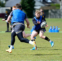 Tuesday 3rd May; Angus Curtis<br /> Ulster Rugby Training at Perrie Park, Belfast, Northern Ireland. Photo by John Dickson/Dicksondigital