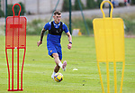 St Johnstone Pre-Season Training...28.06.21<br />Callum Hendry pictured during the first day of pre-season training<br />Picture by Graeme Hart.<br />Copyright Perthshire Picture Agency<br />Tel: 01738 623350  Mobile: 07990 594431