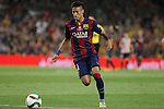 Barcelona´s Neymar Jr during 2014-15 Copa del Rey final match between Barcelona and Athletic de Bilbao at Camp Nou stadium in Barcelona, Spain. May 30, 2015. (ALTERPHOTOS/Victor Blanco)
