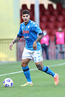 Giovanni Di Lorenzo of SSC Napoli<br /> during the Serie A football match between Benevento Calcio and SSC Napoli at stadio Ciro Vigorito in Benevento (Italy), October 25th, 2020. <br /> Photo Cesare Purini / Insidefoto