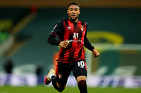 17th April 2021; Carrow Road, Norwich, Norfolk, England, English Football League Championship Football, Norwich versus Bournemouth; Arnaut Danjuma of Bournemouth