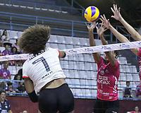 Osasco(SP), 20/02/2020 - Volei Osasco/Audax - Flamengo - Partida valida pelo returno da Superliga Feminina de Volei no Ginasio Poliesportivo Jose Liberatti em Osasco/SP nesta quinta(20). (Foto: Jorge Bevilacqua/Codigo 19/Codigo 19)
