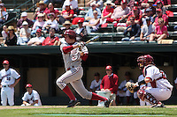 31 May 2008: Stanford Cardinal Zach Jones during Stanford's 5-1 win against the Arkansas Razorbacks in game 3 of the NCAA Stanford Regional at Sunken Diamond in Stanford, CA.