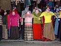 iraq 2006 .In the old market of Suleimania, dresses.Irak 2006.Dans le marche de la vieille ville de Souleimania, robes dans un magasin