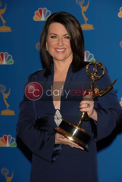 Megan Mullally<br />in the Press Room at the 58th Annual Primetime Emmy Awards. The Shrine Auditorium, Los Angeles, CA. 08-27-06<br />Scott Kirkland/DailyCeleb.com 818-249-4998