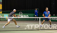 Rotterdam, The Netherlands, 3 march  2021, ABNAMRO World Tennis Tournament, Ahoy, First round doubles:  Wesley Koolhof (NED) / Lukasz Kubot (POL). <br /> Photo: www.tennisimages.com
