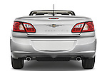 Straight rear view of a 2008 Chrysler Sebring Convertible