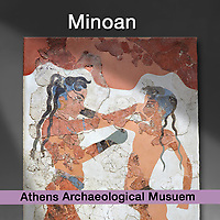Minoan - Art Artefacts - Athens Archaeological Museum - Pictures & Images of -