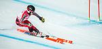 Erin Latimer, PyeongChang 2018 - Para Alpine Skiing // Ski para-alpin.<br /> Erin Latimer skis in the super combined // Erin Latimer skis dans le super combiné. 13/03/2018.