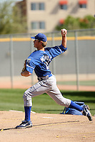 Tim Melville, Kansas City Royals 2010 minor league spring training..Photo by:  Bill Mitchell/Four Seam Images.
