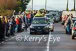 The Funeral of Tom Ross at Fenit on Tuesday.
