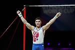 World Cup Birmingham 23.3.19 Mens Competition .Nikita Nagornyy (RUS)