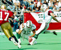 Roman Anderson San Antonio Texans 1995. Photo F. Scott Grant