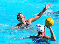 Stanford, CA; Saturday March 9, 2013: Women's Water Polo, Stanford vs San Jose State.