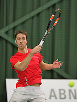 Rotterdam, Netherlands, Januari 24, 2016,  ABNAMROWTT Supermatch, Rob van Thiel (NED)<br /> Photo: Tennisimages/Henk Koster
