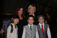"General Hospital Jacklyn Zeman ""Bobbie Spencer"" poses with singer Missy Keene and Maggie Chang, Emilie & Reynard Gagnon (the 3 Potatoes - violin, piano and Bass). Jackie is honorary chair of The 29th Annual Jane Elissa Extravaganza which benefits The Jane Elissa Charitable Fund for Leukemia & Lymphoma Cancer, Broadway Cares and other charities on November 14, 2016 at the New York Marriott Hotel, New York City presented by Bridgehampton National Bank and Walgreens.  (Photo by Sue Coflin/Max Photos)"