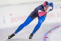 26th December 2020; Thialf Ice Stadium, Heerenveen, Netherlands;  World Championships Qualification Tournament WKKT. 1500m ladies, Reina Anema during the WKKT