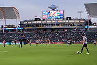 CARSON, CA - SEPTEMBER 15: Dignity Health Sports Complex during a game between Sporting Kansas City and Los Angeles Galaxy at Dignity Health Sports Complex on September 15, 2019 in Carson, California.