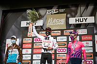 Marc Hirschi (SUI/Sunweb) wins the 84th La Flèche Wallonne 2020 (1.UWT), Benoit Cosnefroy (FRA/AG2R-La Mondiale) is 2nd & Michael Woods (CAN/EF) 3rd.<br /> <br /> 1 day race from Herve to Mur de Huy (202km/BEL)<br /> <br /> ©kramon
