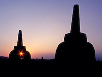 Images from the Book Journey Through Colour and Time, the famous temples at Borubadur near Jogjakarta Indonesia