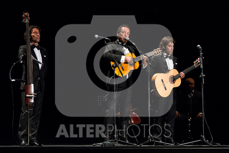 Cafe Quijano in concert during the summer of the villa at Madrid Rio in Madrid, July 22, 2015<br />  (ALTERPHOTOS/BorjaB.Hojas)