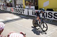 Joris Nieuwenhuis (NED/DSM)<br /> <br /> Stage 20 (ITT) from Libourne to Saint-Émilion (30.8km)<br /> 108th Tour de France 2021 (2.UWT)<br /> <br /> ©kramon