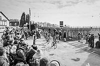 breakaway group rolling by<br /> <br /> 81st Gent-Wevelgem in Flanders Fields (1.UWT)<br /> Deinze > Wevelgem (251km)