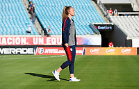 Jacksonville, FL - Thursday April 5, 2018: Becky Sauerbrunn during an International friendly match versus the women's National teams of the United States (USA) and Mexico (MEX) at EverBank Field.