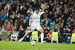 Chicharrito of Real Madrid during Champions League match between Real Madrid and Ludogorets at Santiago Bernabeu Stadium in Madrid, Spain. December 09, 2014. (ALTERPHOTOS/Luis Fernandez)