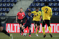 WIENER NEUSTADT, AUSTRIA - MARCH 25: Sergino Dest #2 of the United States during a game between Jamaica and USMNT at Stadion Wiener Neustadt on March 25, 2021 in Wiener Neustadt, Austria.