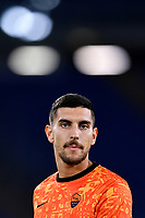 Lorenzo Pellegrini of AS Roma warms up during the Europa League Group Stage A football match between AS Roma and CSKA Sofia at stadio olimpico in Roma (Italy), October, 29th, 2020. Photo Andrea Staccioli / Insidefoto