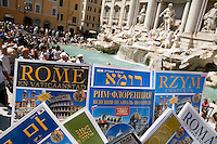 Trevi Fountain, RomeItaly, Europe, 2007, © Stephen Blake Farrington