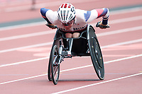 29th August 2021; Tokyo, Japan; Nathan Maguire (GBR), Athletics : Men's 400m T54 Round 1 <br /> during the Tokyo 2020 Paralympic Games at the National Stadium in Tokyo, Japan.