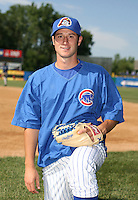 Alex Maestri of the Peoria Cubs during the Midwest League All-Star game.  Photo by:  Mike Janes/Four Seam Images