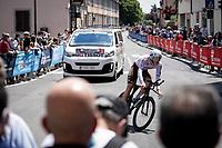 Lawrence Naesen (BEL/AG2R Citroën)<br /> <br /> 104th Giro d'Italia 2021 (2.UWT)<br /> Stage 21 (final ITT) from Senago to Milan (30.3km)<br /> <br /> ©kramon