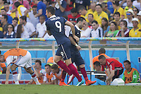 Olivier Giroud of France replaces Mathieu Valbuena
